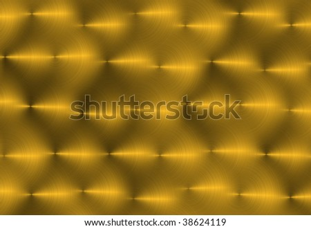 Hand Brushed Bronze - stock photo