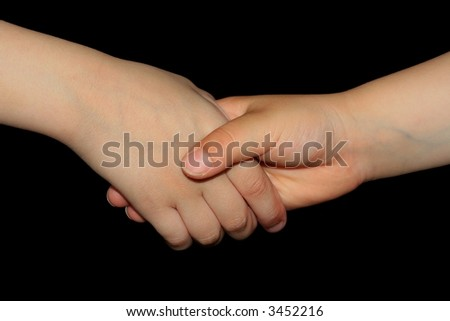 Hand children's  - greeting