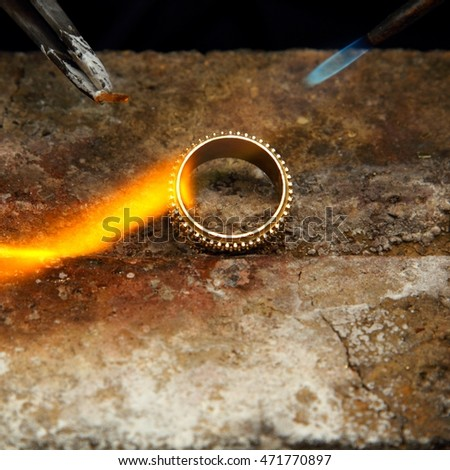 Hand Crafted Gold Ring
