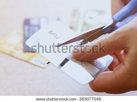 Cancel Credit Card Stock Photos, Royalty-Free Images & Vectors ...