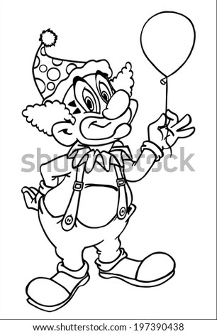 thanksgiving coloring pages funny clowns - photo#16