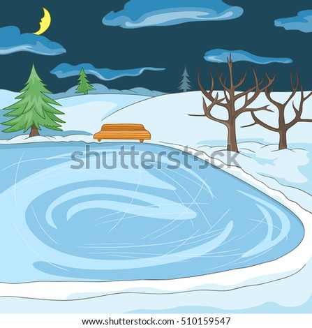 Pond Cartoon Stock Images, Royalty-Free Images & Vectors ...