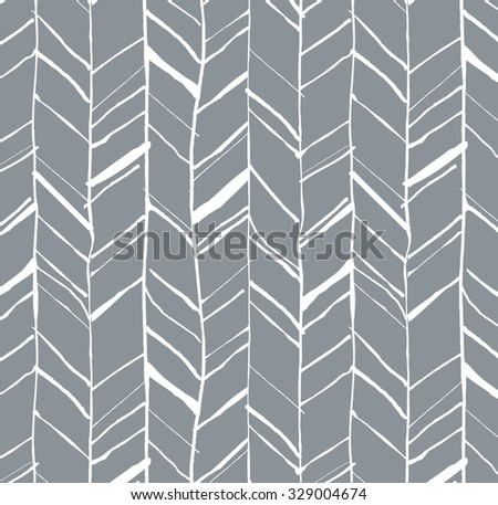 Hand drawn creative herringbone pattern, perfectly seamless composition for print or web projects - stock photo
