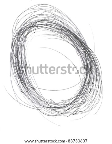 Hand Drawn Element - stock photo