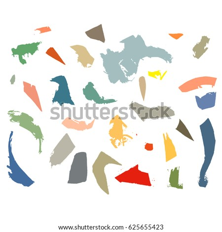 Hand drawn stylized pattern bright color. Storkes. Flat isolated style illustration. (Can be used as texture for cards, invitations, DIY projects, web sites or for any other design)