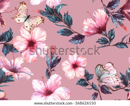 Seamless Floral Vectors Photos and PSD files  freepikcom