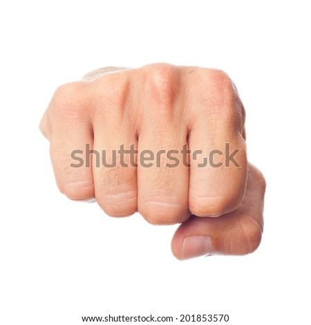 hand fist - stock photo