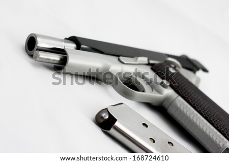 hand gun - stock photo