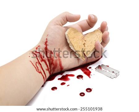 how to cut my wrist with a razor