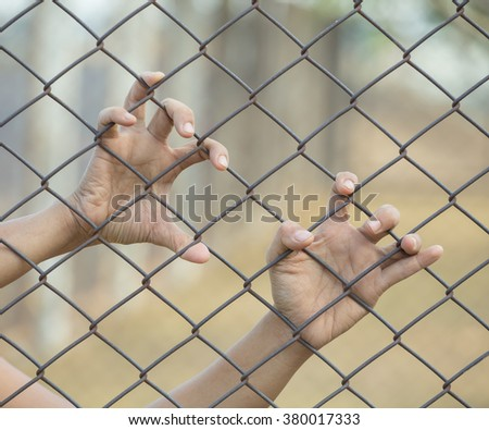 Hand In Jail, concept of life imprisonment