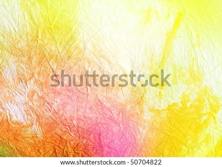 hand-made batik paper - background - stock photo