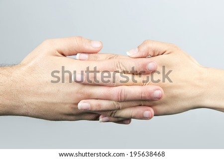 hand, male, female