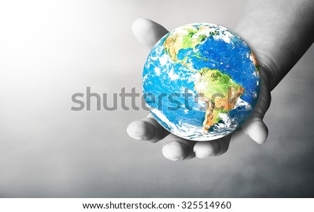 Hand man for the opportunity and support. helping misery, famine, poverty, wanting to help. giving without expecting something in return. The concept of aid And an opportunity. men empty hands, palms - stock photo