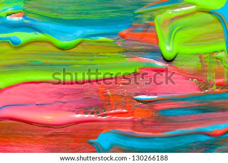Hand-painted background. Abstract art backgrounds - stock photo