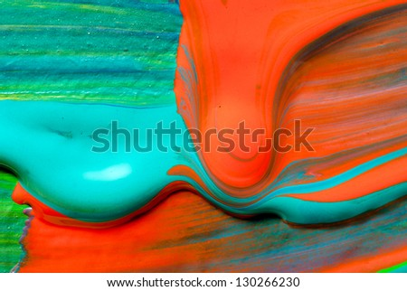 Hand-painted background. Abstract art backgrounds