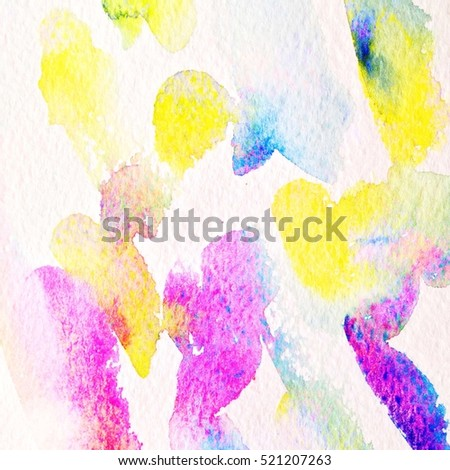 Hand painted watercolor background. Watercolor wash. abstract painting. Watercolor wash.
