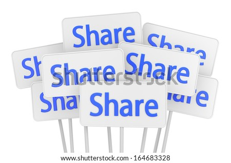 Hand Shaped mouse Cursor thumb up share - stock photo