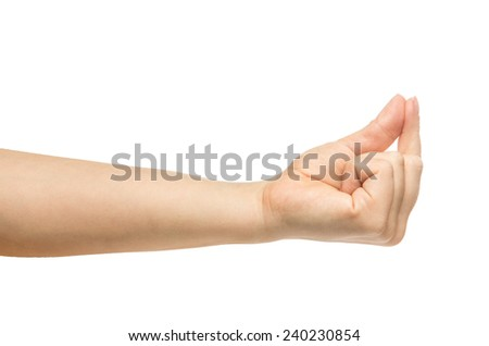 Hand Sign - Small