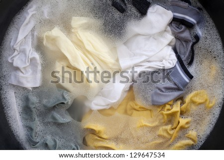 Hand wash - stock photo