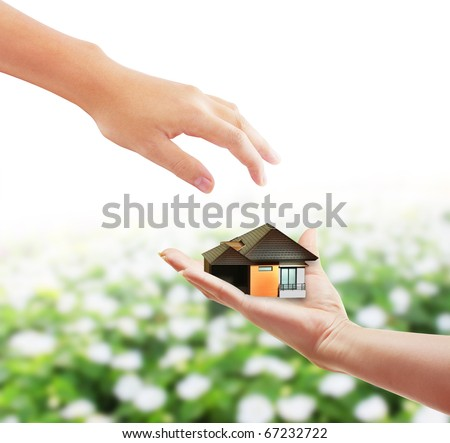 hand with a home business