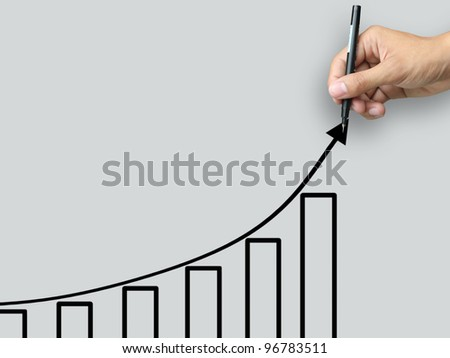 Hand write growth chart