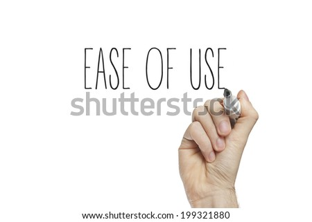 Hand writing ease of use on a white board