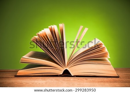 Handbook, torah, new. - stock photo