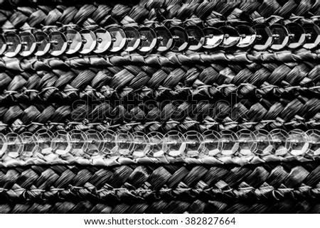 Handcraft pattern weave texture natural background for design