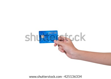 Handle Credit Card isolate