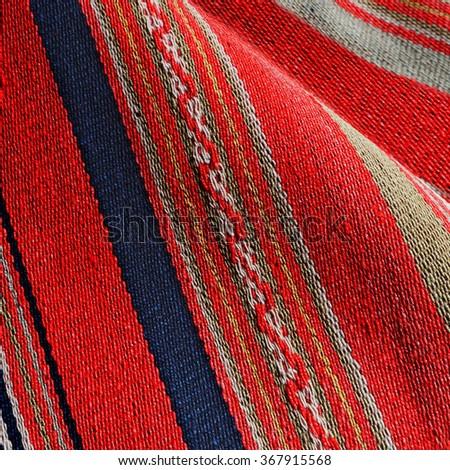 Handmade indigenous weave background - stock photo