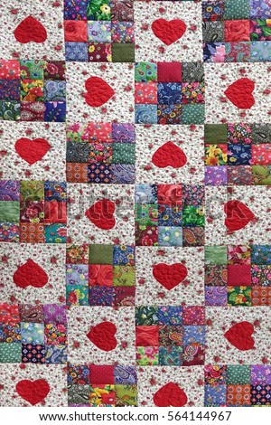 Quilt Stock Images, Royalty-Free Images & Vectors   Shutterstock : quilts with hearts - Adamdwight.com