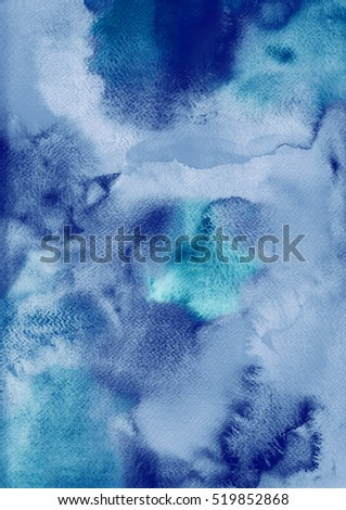 Handmade watercolor background, aguarelle painting colorful abstract backdrop for your design.