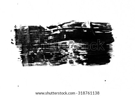 handpaint ink texture background - stock photo