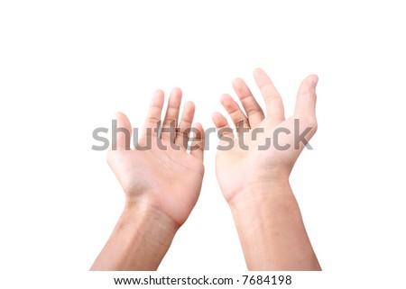 Hands - stock photo