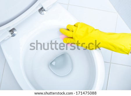 how to clean toilet seats that going yellow