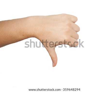 Hands pointing with index finger