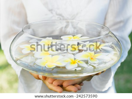 Hands Spa - stock photo