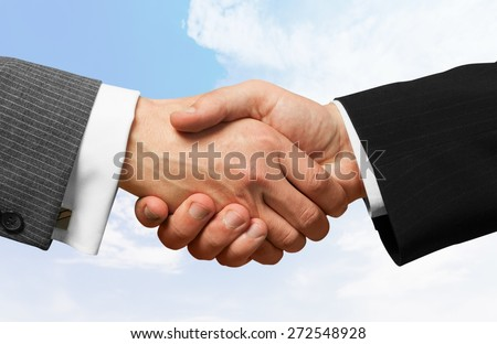 Handshake, Business, Partnership.