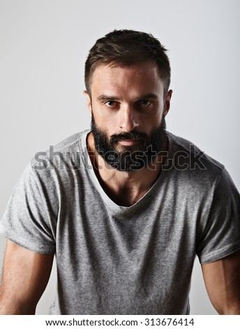 Handsome bearded guy