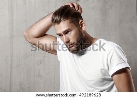 Tremendous Beard Stock Photos Royalty Free Images Amp Vectors Shutterstock Short Hairstyles Gunalazisus