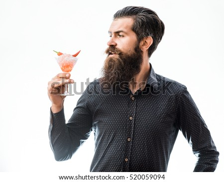 Long beard stock images royalty free images vectors shutterstock handsome bearded man with stylish hair mustache and long beard face holding glass of alcoholic cocktail urmus Gallery