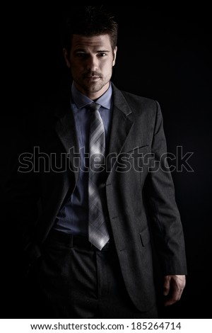 Handsome Business Man  - stock photo