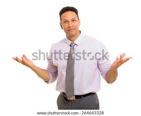 handsome middle aged business man portrait - stock photo