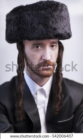 black jewish man