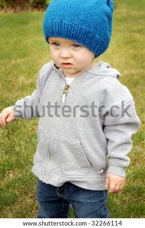 Handsome Toddler - stock photo