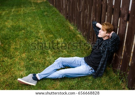 Sitting On The Fence Stock Images Royalty Free Images