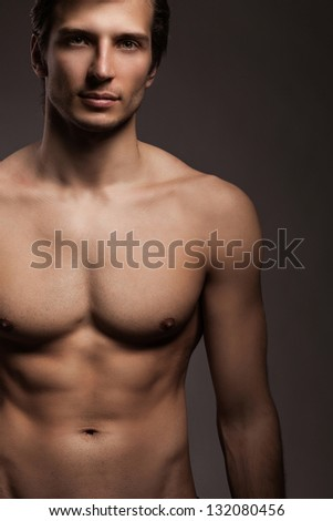 Male Fitness model — Stock Photo © curaphotography #8488240