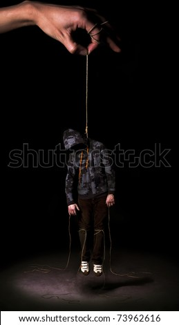Hanged people - stock photo