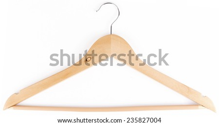 hanger isolated on white background