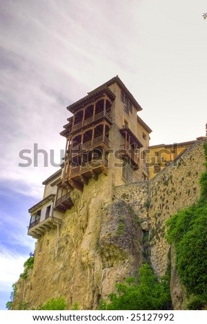 Hanging House. A typical image of Spain - stock photo